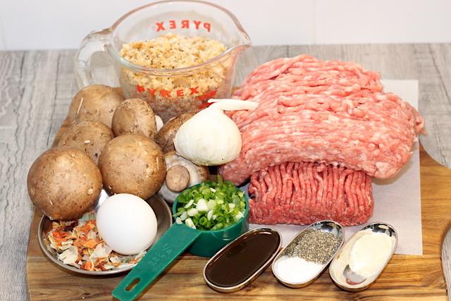 Blended Burger Ingredients | urbnspice.com