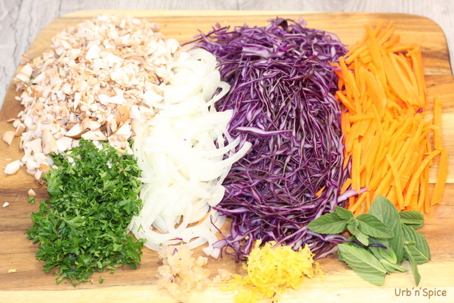 Vegetable Mise en place | urbnspice.com