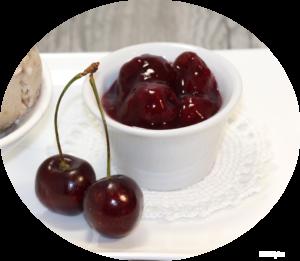 Dark Cherry Vanilla Compote | urbnspice.com