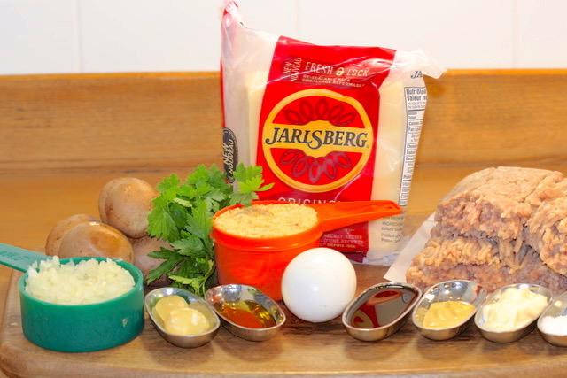 Turkey Mushroom Jarlsberg Burger | urbnspice.com