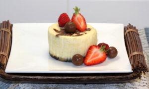 Malteser White Chocolate Mini Cheesecakes   urbnspice.com