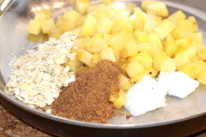 Caramelized Pineapple Ingredients   urbnspice.com
