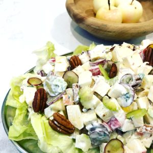 How to Make the Best Waldorf Salad | urbnspice.com