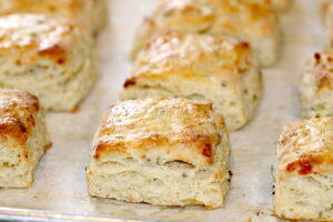 Asiago Cheese and Chive Scones   urbnspice.com