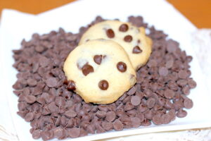 Picca Bots: A Chocolate Chip Shortbread Cookie | urbnspice.com