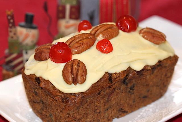 Glazed Fruitcake | urbnspice.com