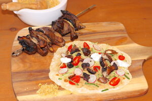 Crispy Mushroom Shawarma
