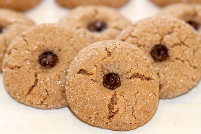 Pomegranate Molasses Sugar Cookies