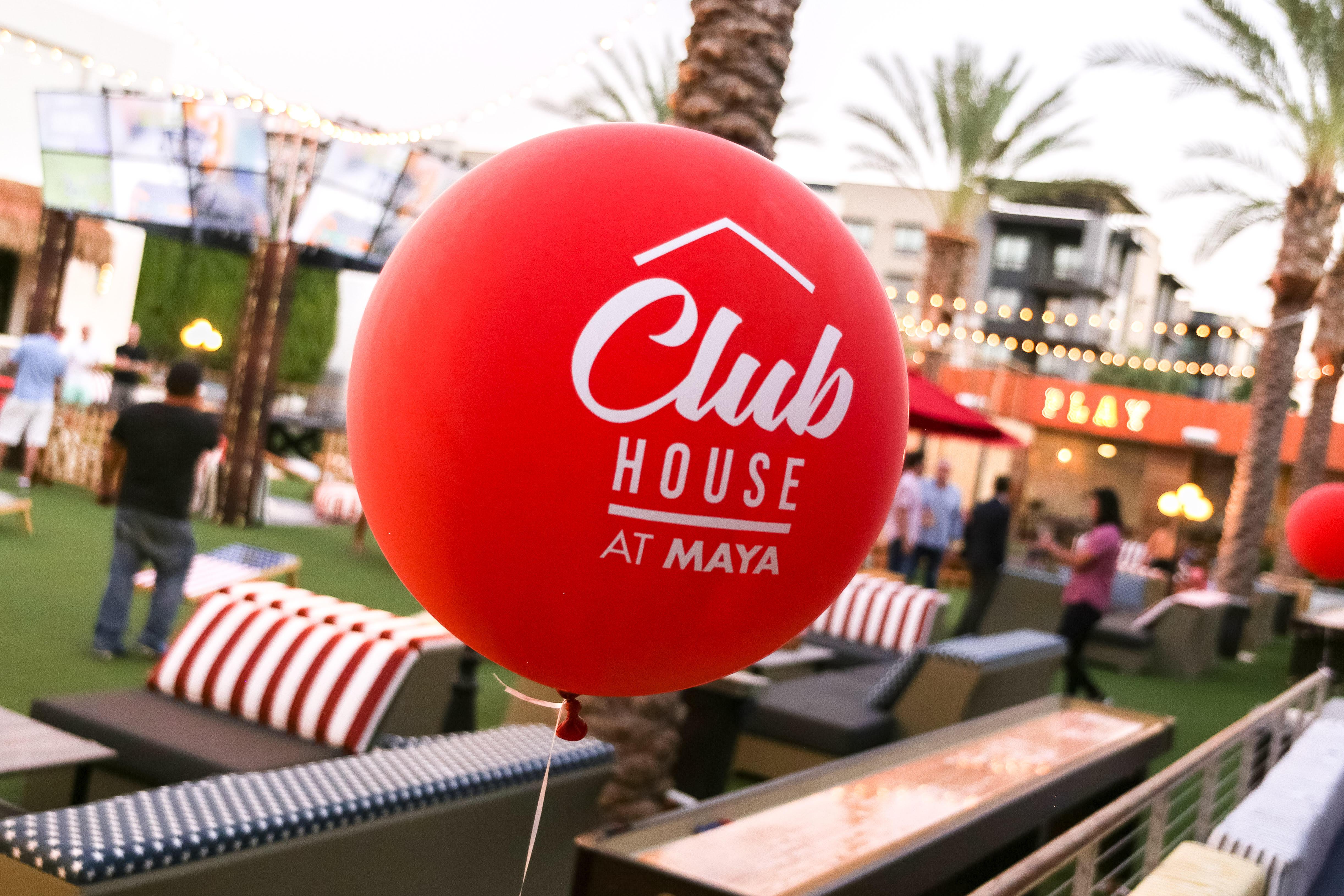 Club House At Maya