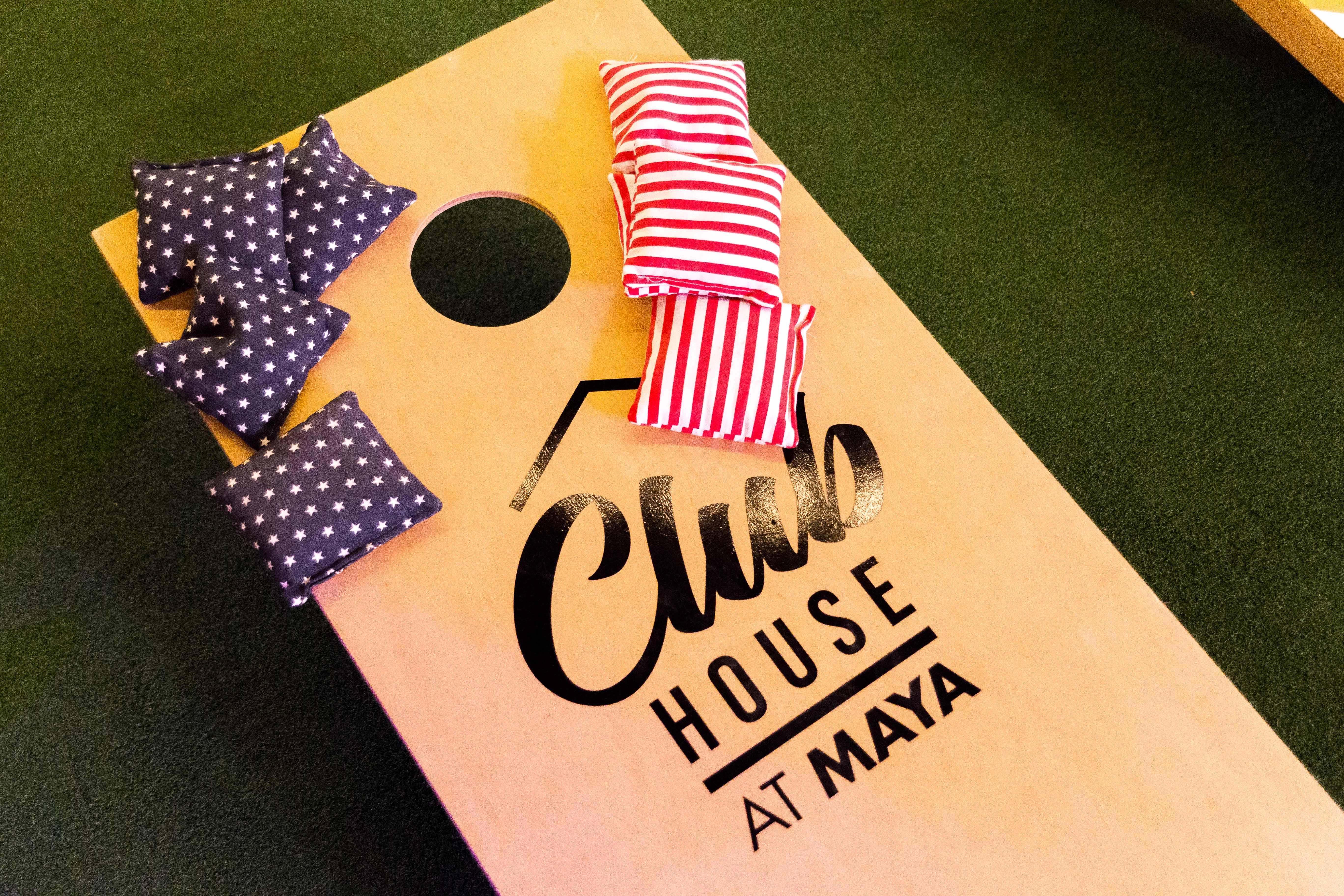 Club House At Maya Bar