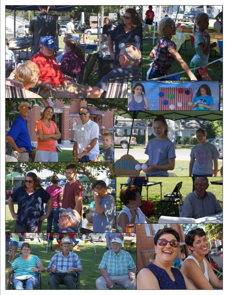 Parish Picnic Collage 2018