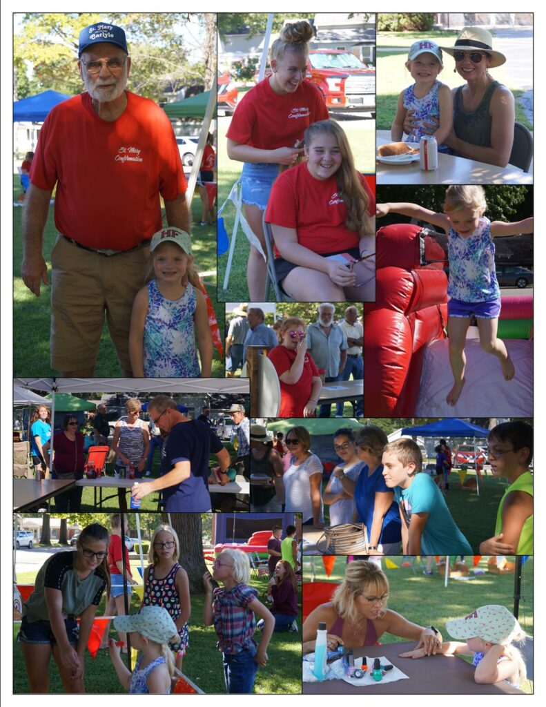 Parish Picnic Collage 2018 a