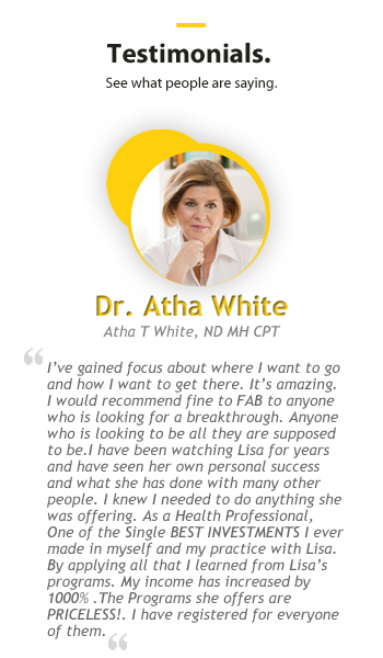 Dr Atha responsive testimonial