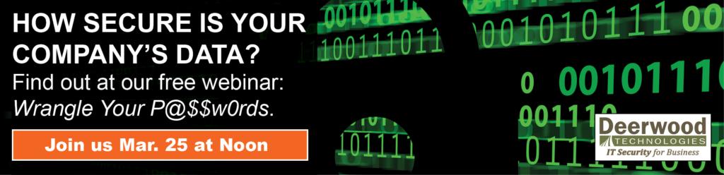 Password Management Webinar