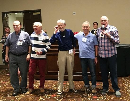 50s Abie Grossfeld, Larry Snyder, Jon Culbertson , Armando Vega, Ron Munn