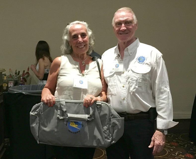Congress Reception - WAS drawing Jeanne deKeyserling & David Jacobs b