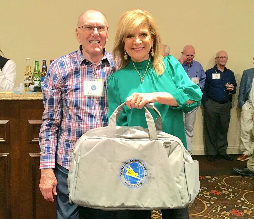 Congress Reception - WAS drawing Ron Munn & Lieve Olivera b