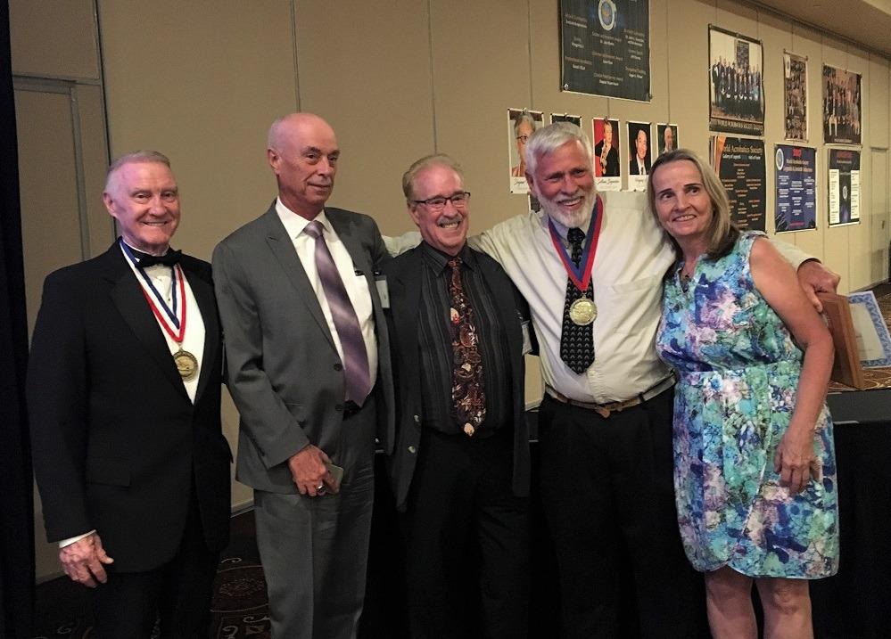 Congress banquet - David Jacobs, .. , Bobby Dickson, Dave Thor, Sandy Thor b