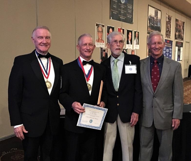 Congress banquet - David Jacobs, Jay Whelan, Jon Culbertson , Jeff Whelan b