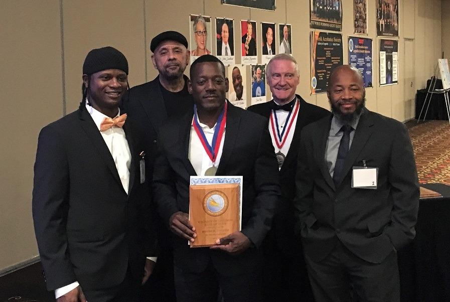Congress banquet - Rayshine Harris, David Green Sr., Roger Walker, David Jacobs, b
