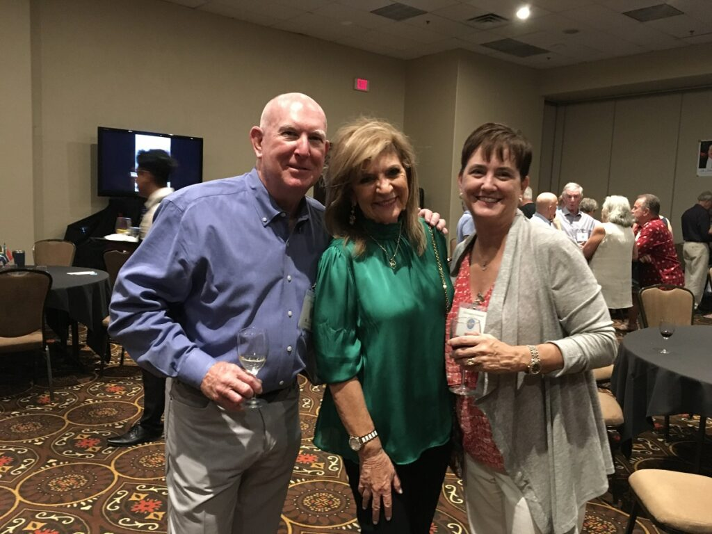 Congress reception - Scott Crouse, Lieve Olivera, Marci Crouse b