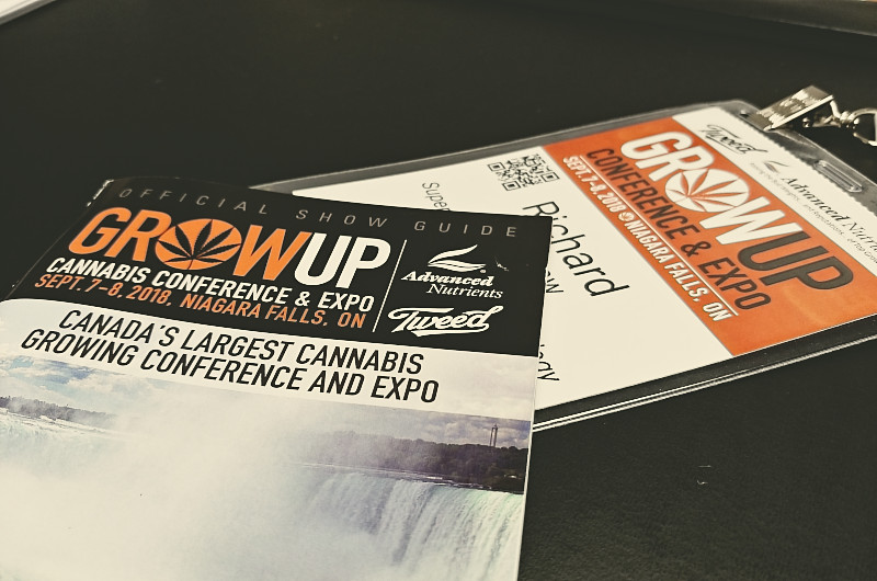 Grow Up Conference Badge