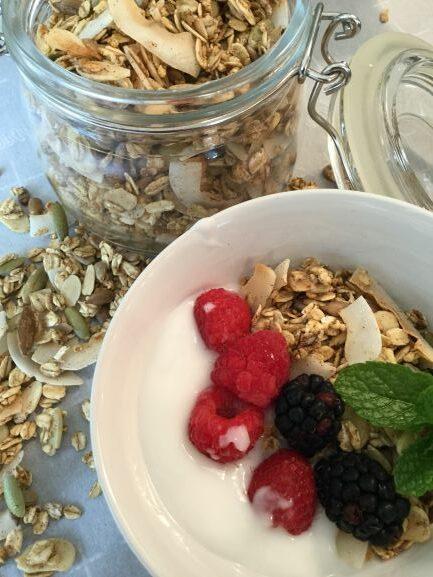 Sugar-free-granola