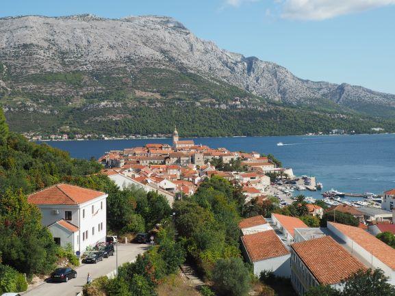 View-Old-Town-Korcula-Island-Croatia