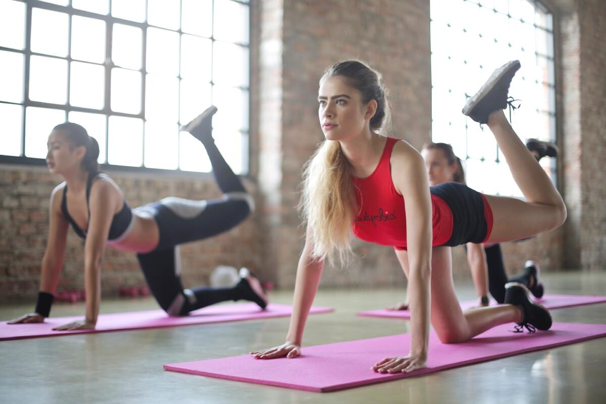 women exercise