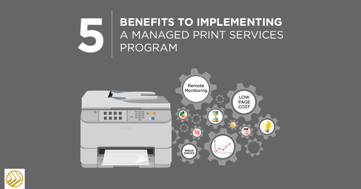 Benefits of a managed print services program