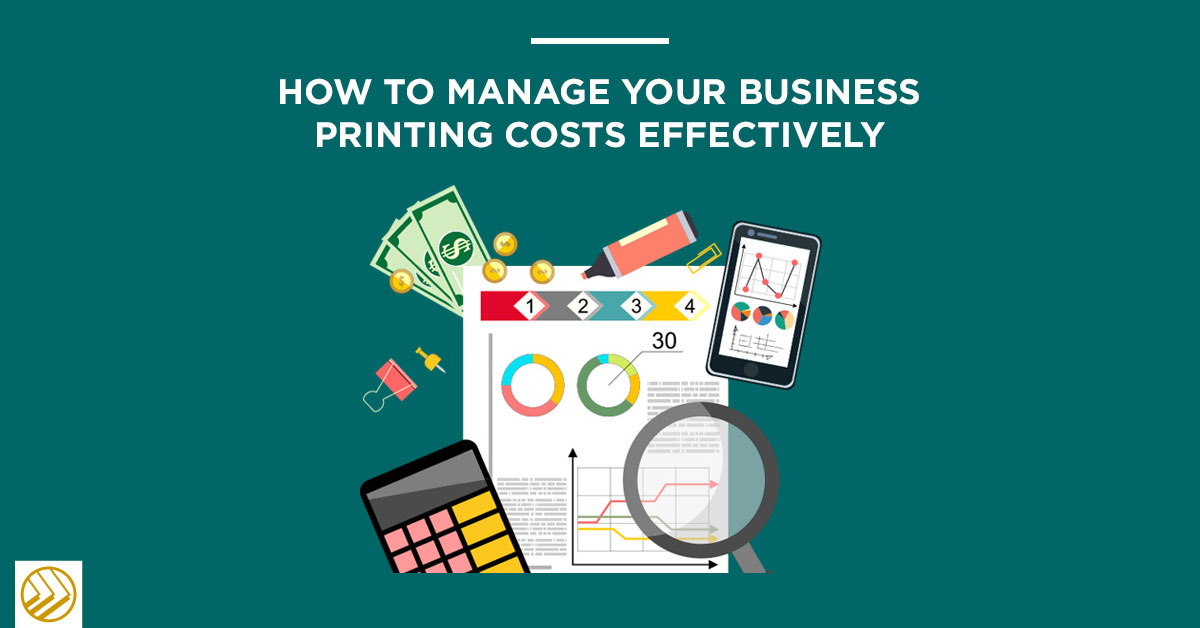 how to manage printing costs effectively