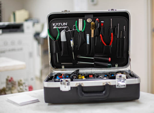 Tool kit used for printer repair