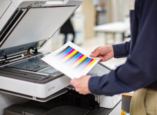 calibrating a copier