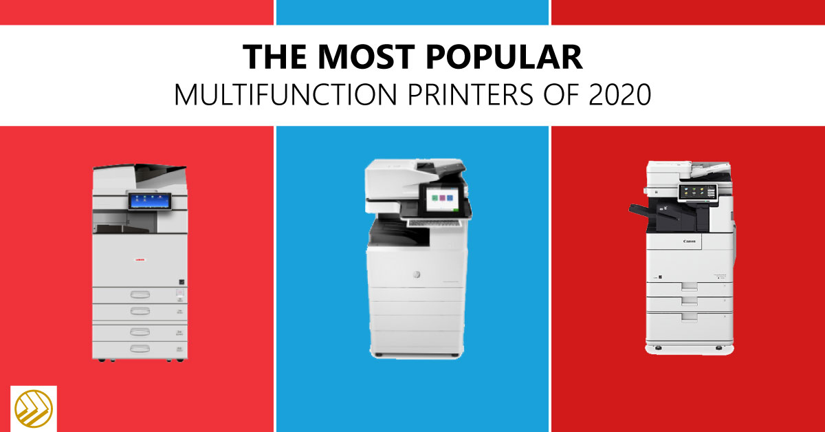 Most popular multifunction printers 2020