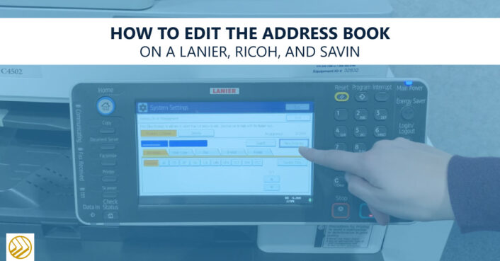 Edit Address book