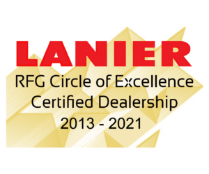 Ricoh_Lanier Circle of Excellence 2021