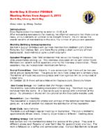 2015-08-05 Municipal Heritage Committee
