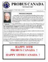 2017-02 PROBUS Canada Newsletter