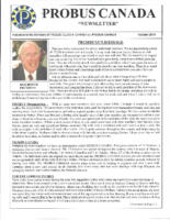 2018-10 PROBUS Canada Newsletter
