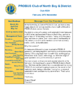 2019-02 North Bay & District newsletter