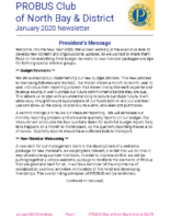 2020-01 North Bay & District newsletter