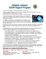 2020-10 PROBUS Canada Zoom Support Program