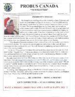 2020-12 PROBUS Canada newsletter
