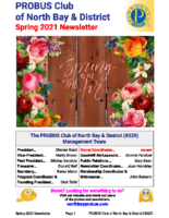 2021-03 North Bay & District newsletter