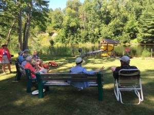 2016-08-08  Pot Luck at Roberts' cottage (Dorothy's) 2071