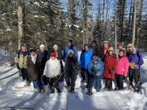 2020-02-20 Outdoors Club snowshoeing at Nordic 01