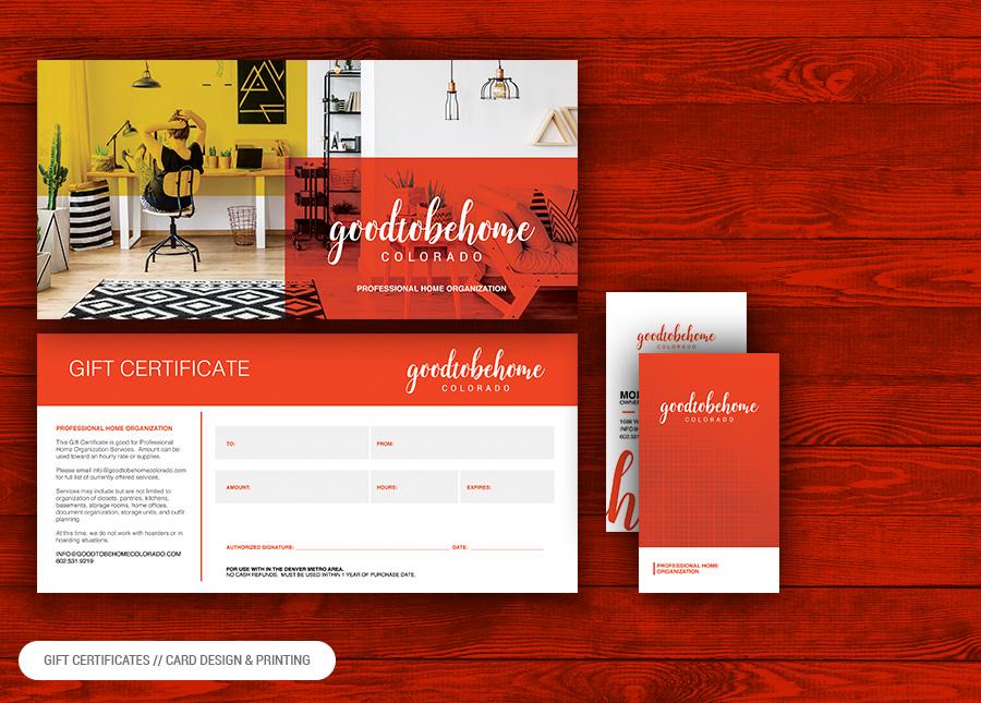 business card design and printing Denver