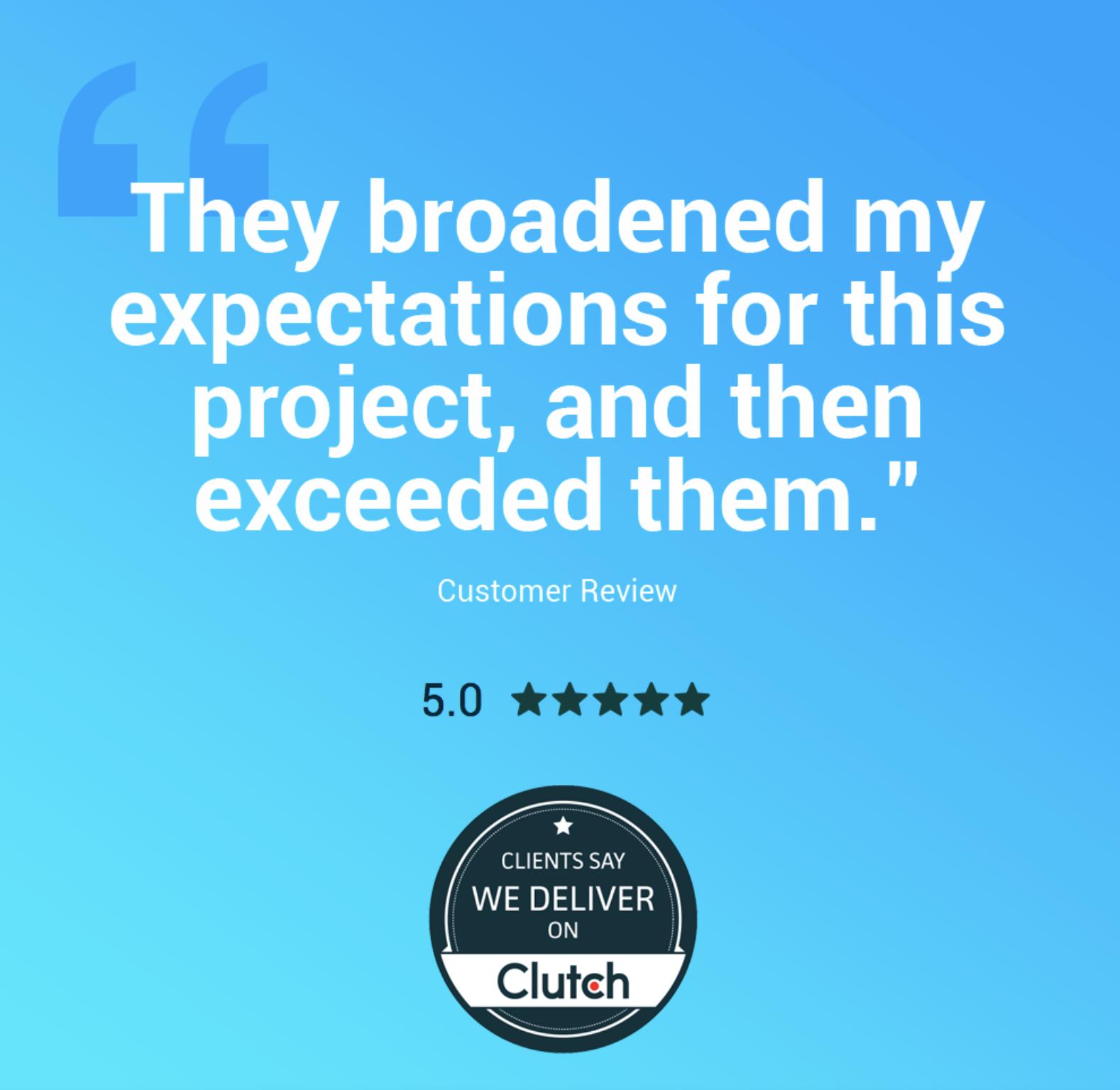 Customer Review for Logo Design in Denver, Colorado