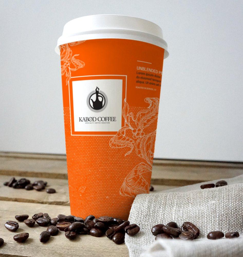 Denver Graphic Designer   Coffee Cup Design