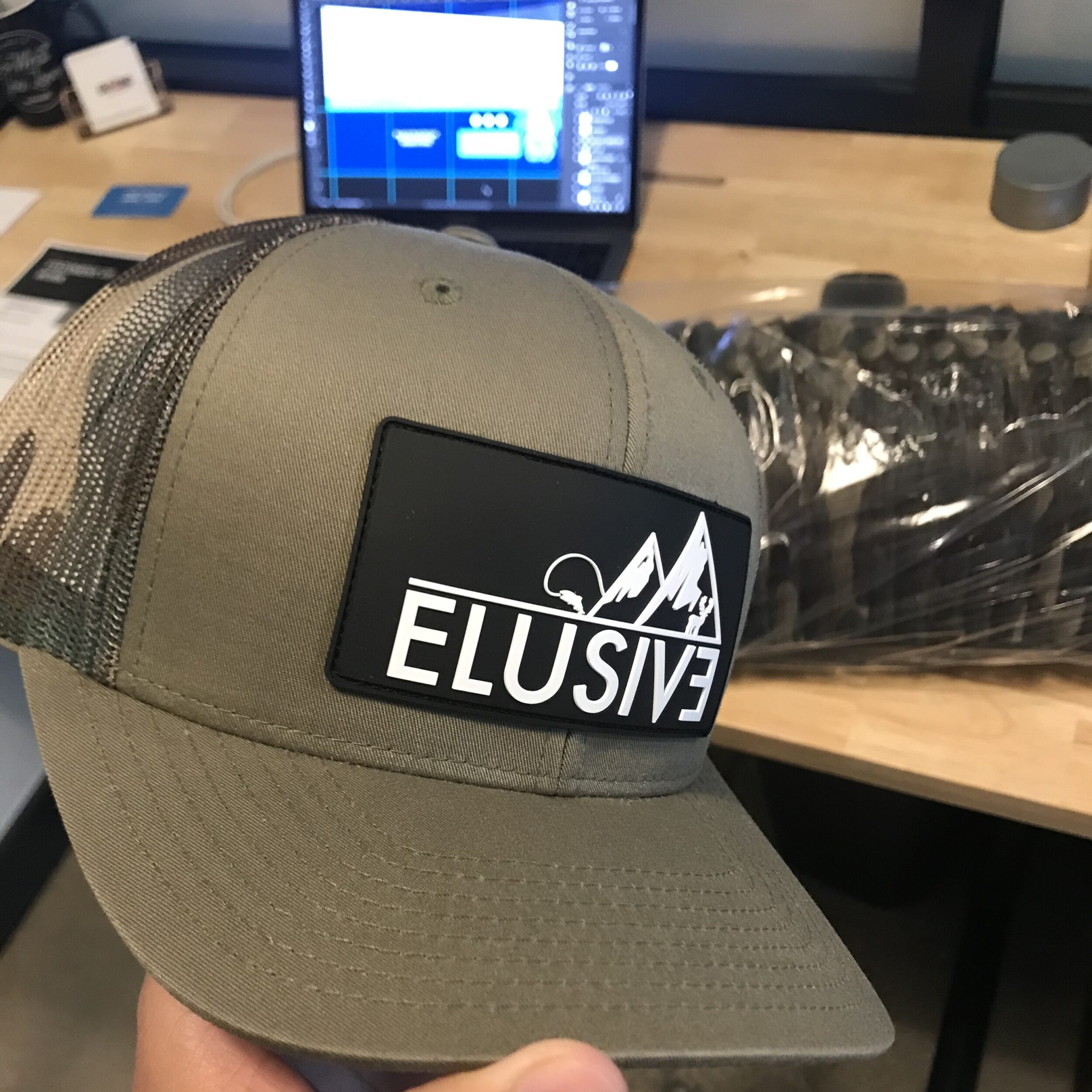 Logo Design & Branded Hat | Denver, Colorado